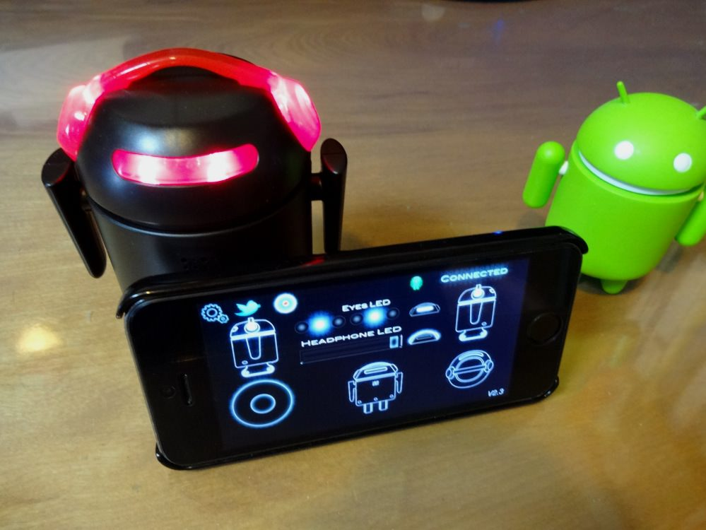 Bero be the robot bluetooth droidkun 05
